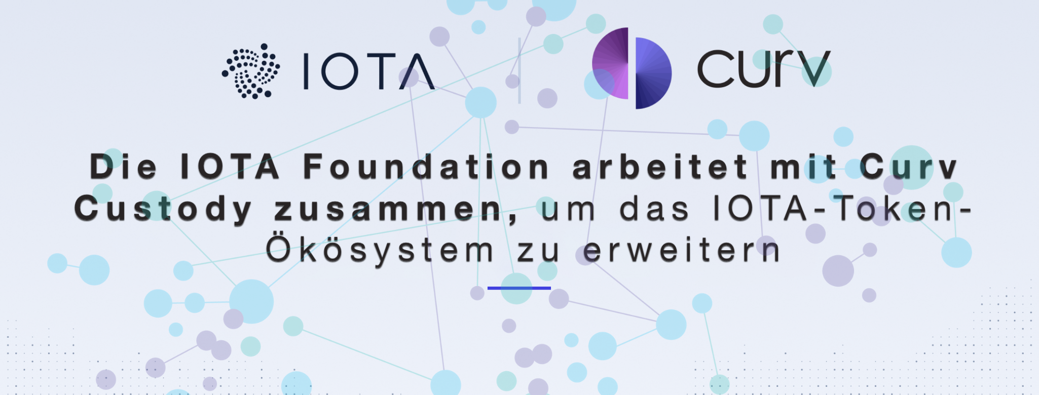 iota partners with Curv custody