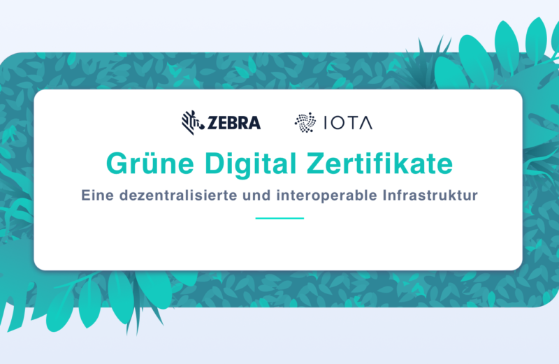 digital green certificate iota